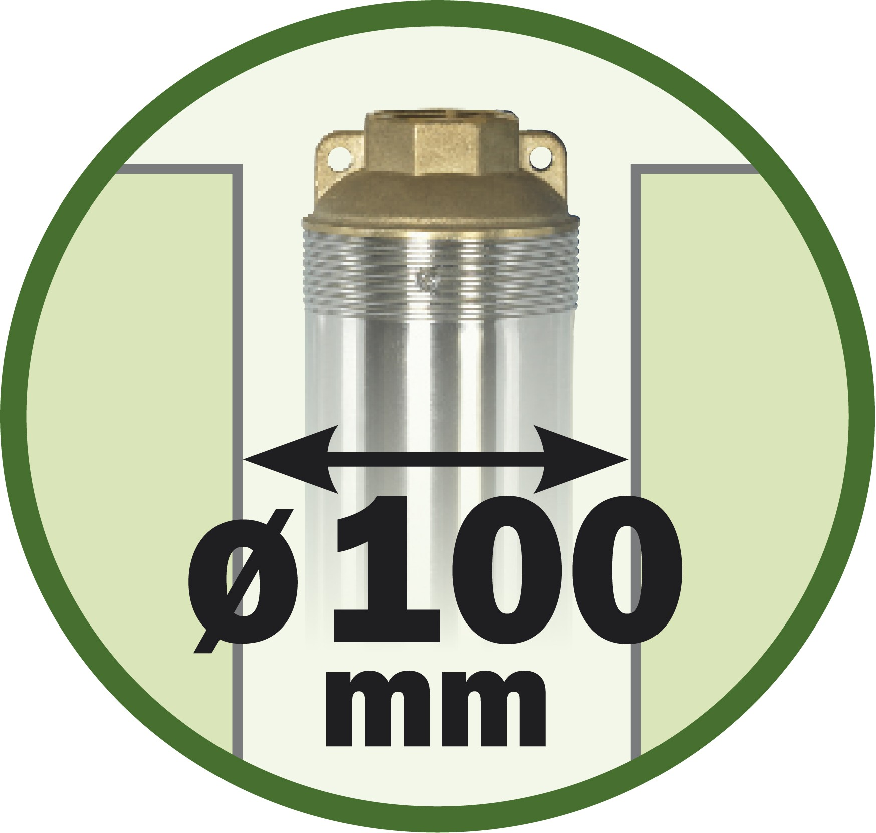 diametre 100mm