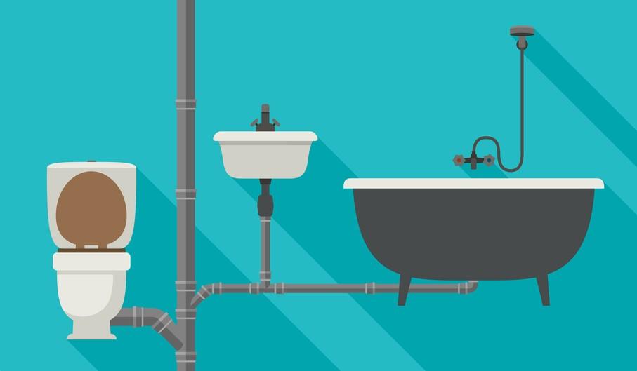 les 3 types d'effluents d'eau domestiques
