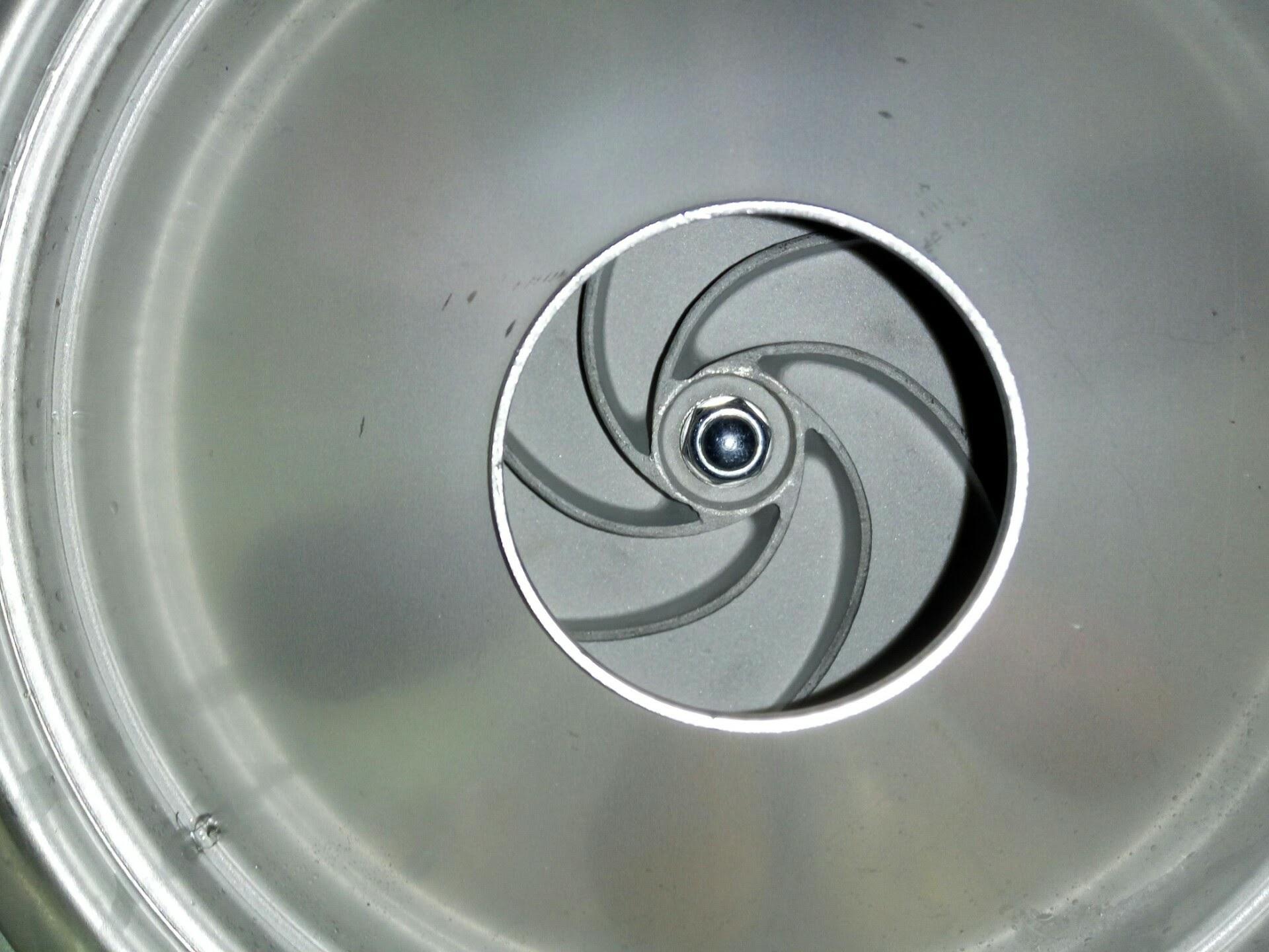 ouverture diametre 50mm pompe relevage vortex