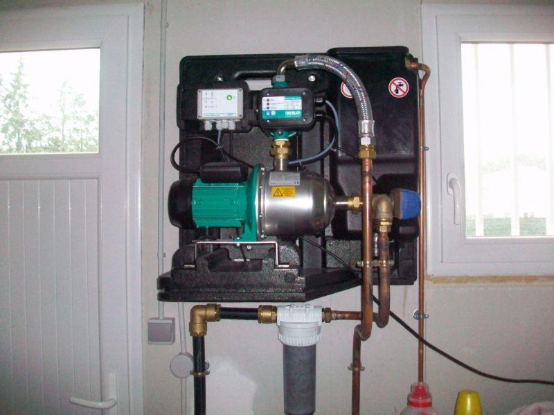 armoire technique recuperation eau de pluie